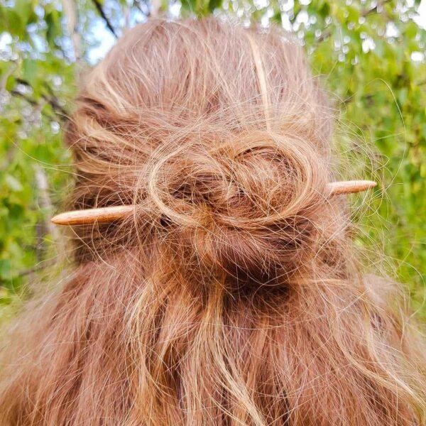 hairstick mahogany